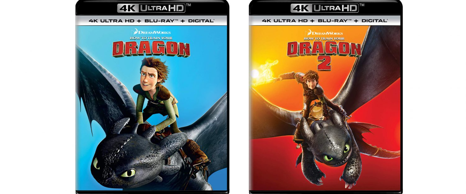 Both How to Train Your Dragon and How to Train Your Dragon 2 get 4K releases this week.