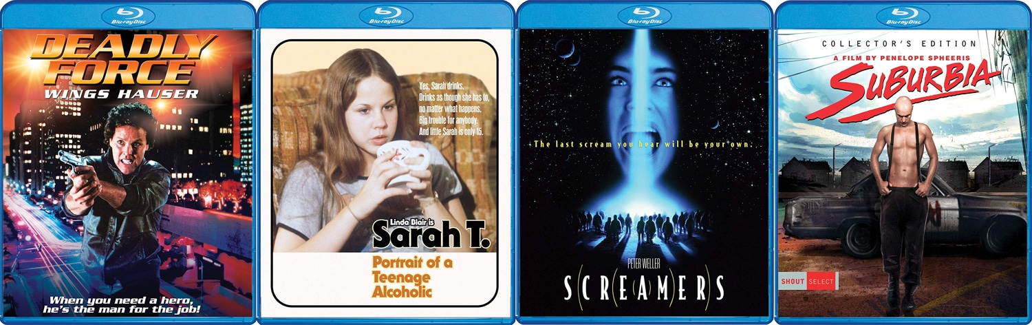 Shout! Factory is releasing Sreamers, Sarah T and lots more.