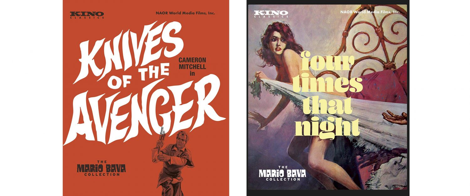 Two Mario Bava films come to Blu-ray this week from Kino.