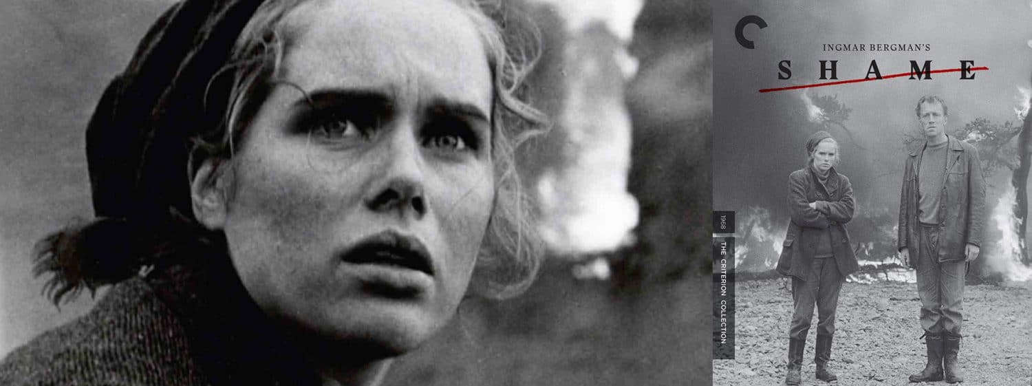 Ingmar Bergman's Shame is the latest edition to the Criterion Collection.