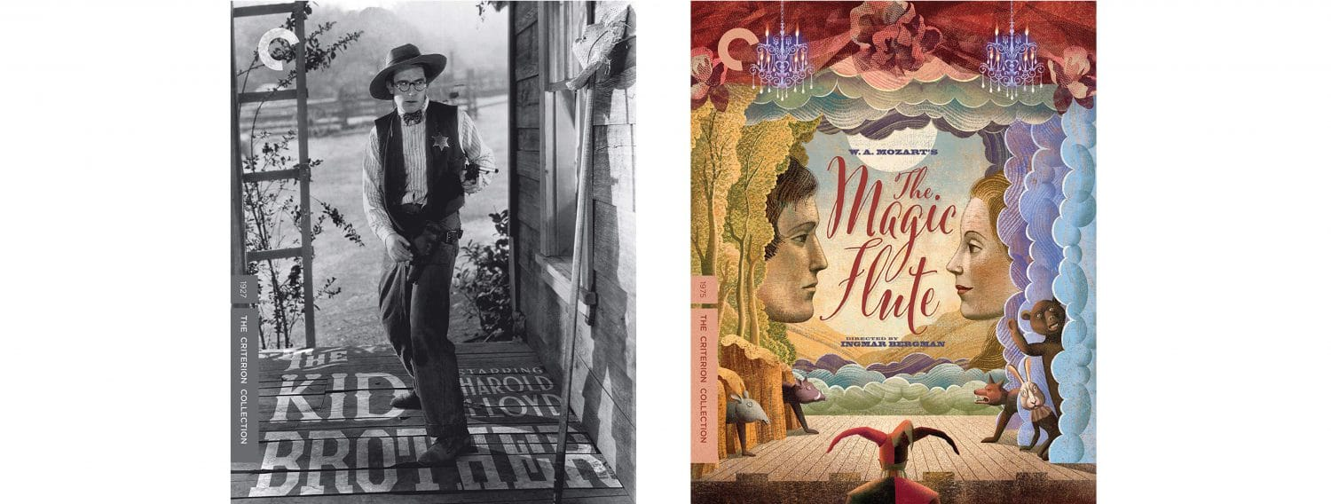 Harold Lloyd's The Kid Brother and Federico Fellini's The Magic Flute both come to Blu-ray this week from Criterion.