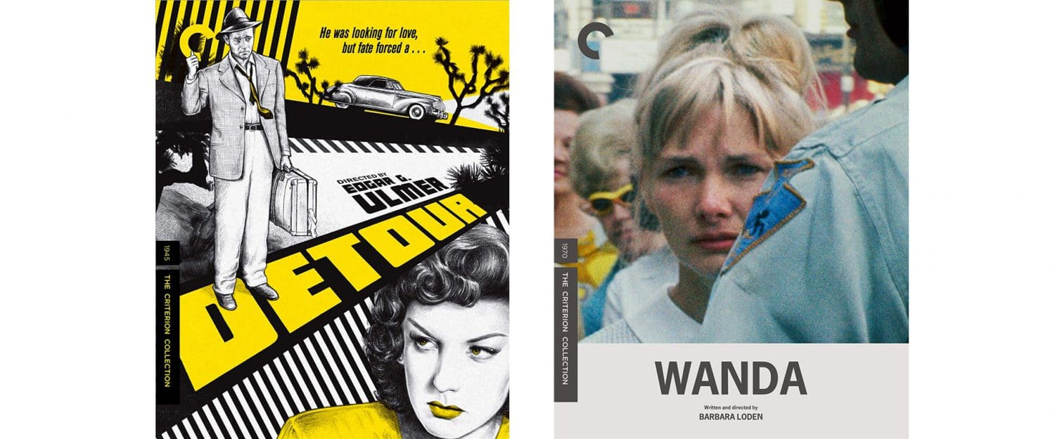 Detour and Wanda both come out from the Criterion Collection this week on Blu-ray.