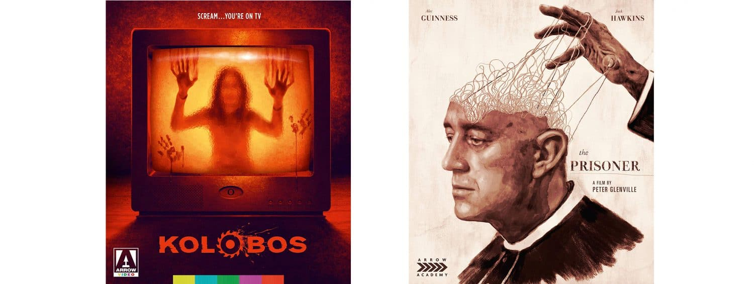 Both Kolobos and The Prisoner get releases this week from Arrow Video.