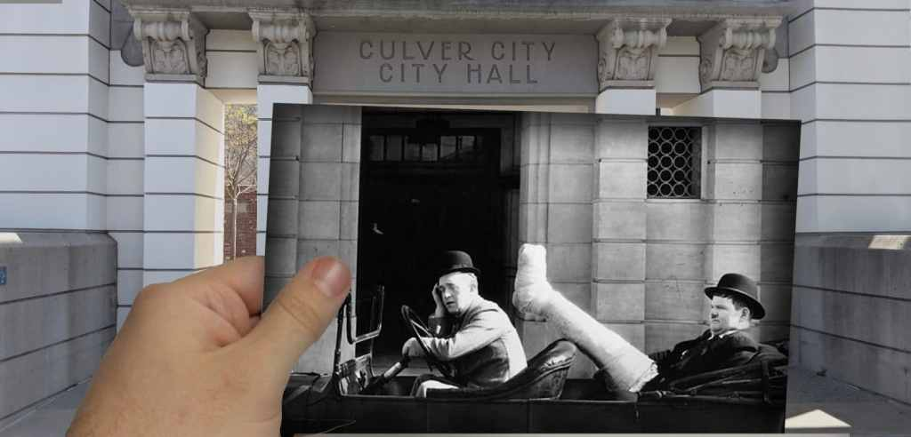 Culver City was the filming location for a great many Laurel and Hardy films.