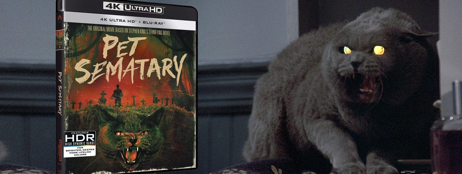 Stephen King's Pet Sematary comes to Blu-ray and 4K Ultra HD in advance of the new big screen remake.