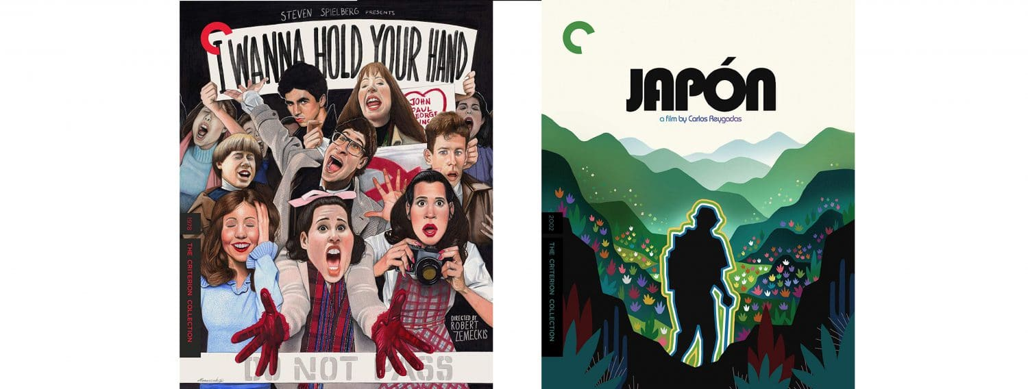 Robert Zemeckis' I Wanna Hold Your Hand and Japon both join the Criterion collection this week.