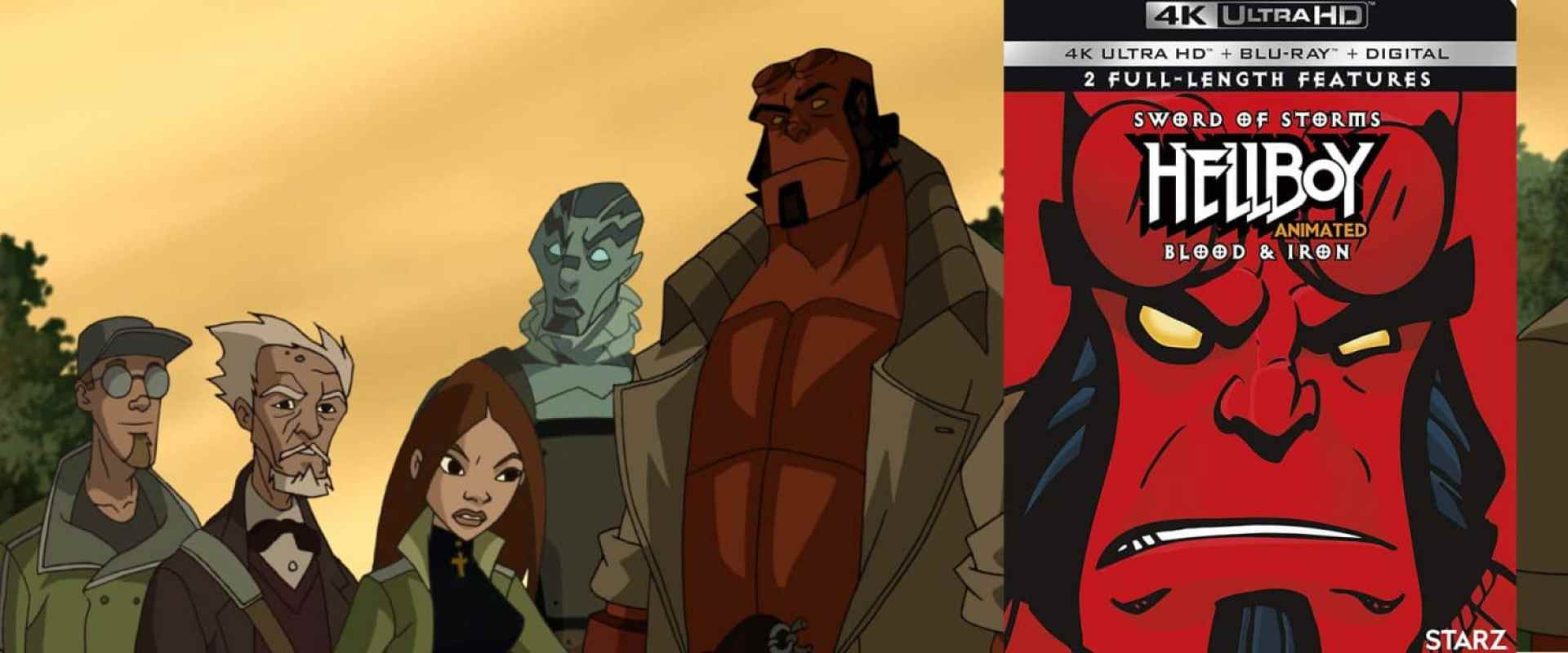 Two animated Hellboy movies come to 4K Ultra HD this week.