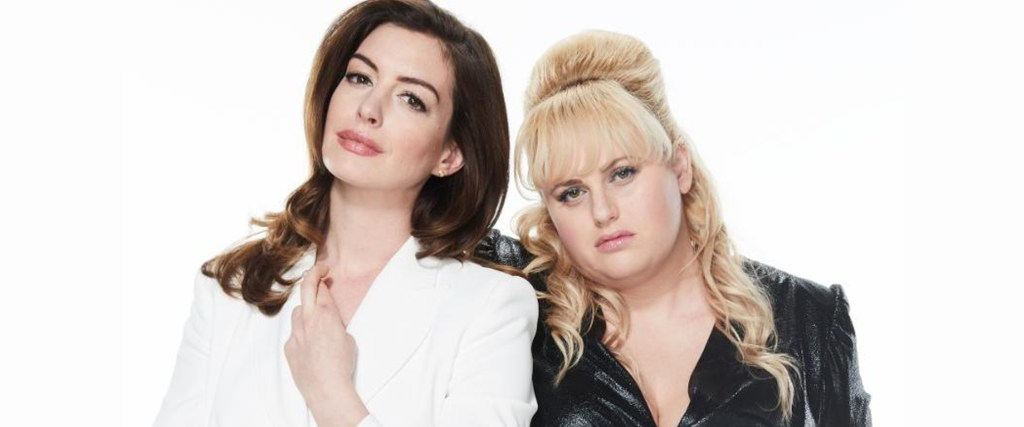 Anne Hathaway and Rebel Wilson star in The Hustle movie, a remake of Dirty Rotten Scoundrels.