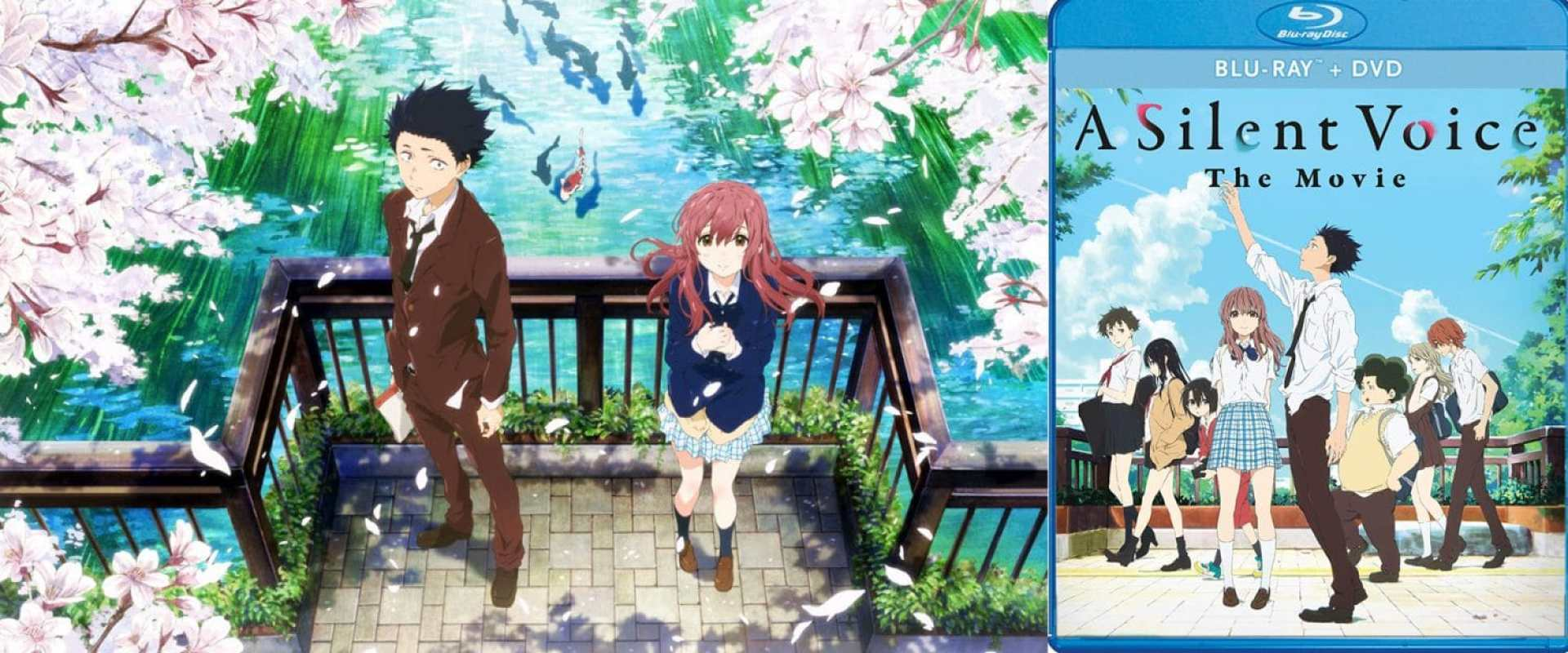Silent Voice: The Movie arrives on Blu-ray this week from Shout! Factory.