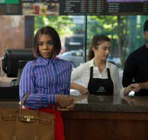 Regina Hall as Jordan Sanders in Little, co-written and directed by Tina Gordon.
