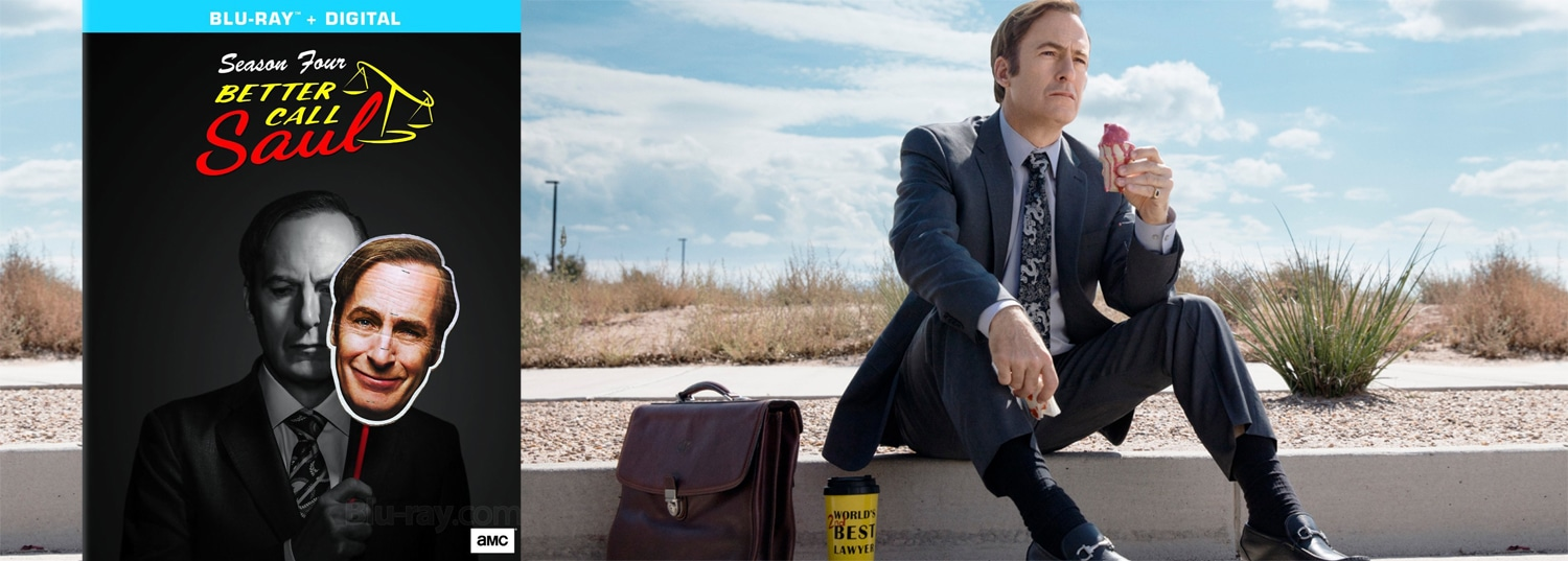 Better Call Saul season four comes to Blu-ray and DVD this week.