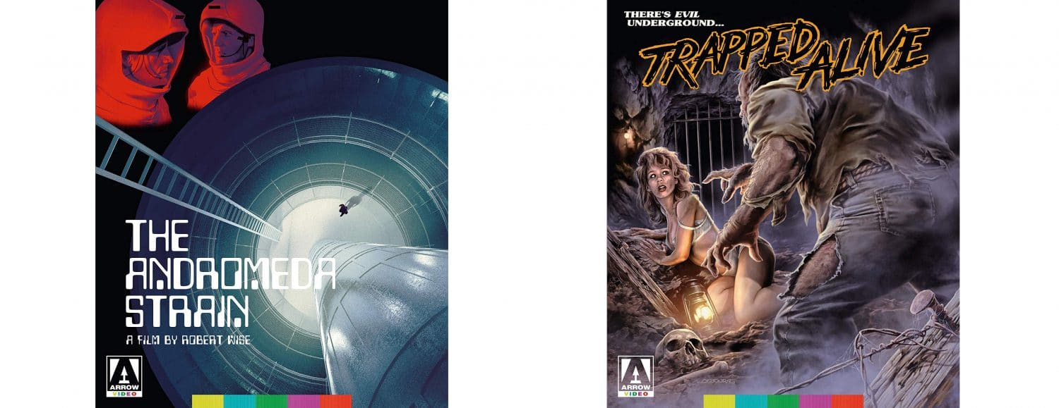 Andromeda Strain and Trapped Alive come to Blu-ray from Arrow Video.