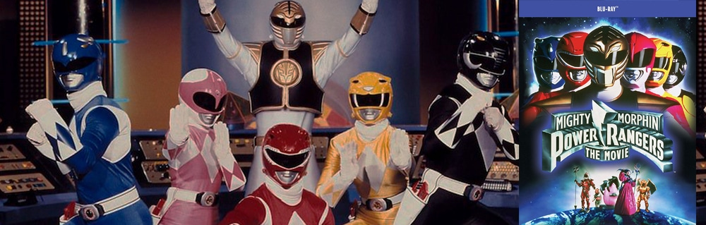 The 1995 Mighty Morphin Power Rangers movie comes to blu-ray from Shout! Factory!