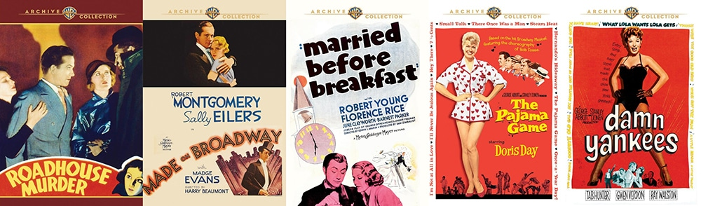 There are quite a few MOD titles coming to DVD this week from Warner Archive.