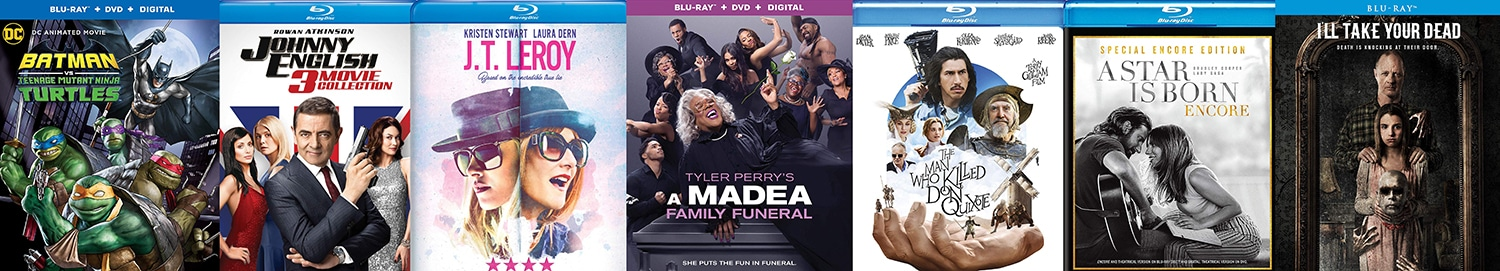 There are lots of great new releases Blu-rays coming home this week.