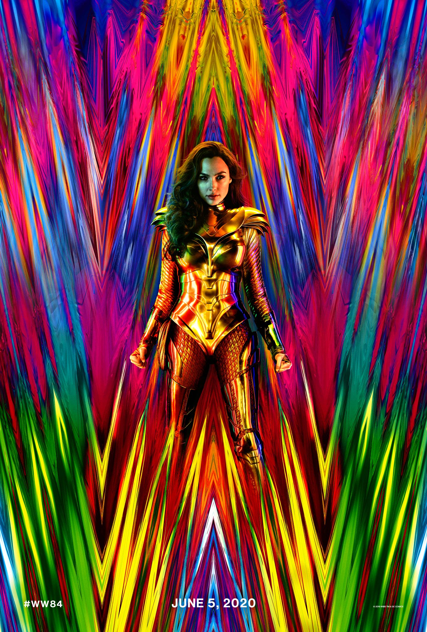 Take a look at the new Wonder Woman costume from the upcoming Wonder Woman sequel, Wonderments Woman 1984.