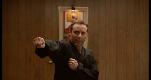 "Alessandro Nivola stars as ""Sensei"" in writer/director Riley Stearn's THE ART OF SELF-DEFENSE, a Bleecker Street release. Credit: Bleecker Street"