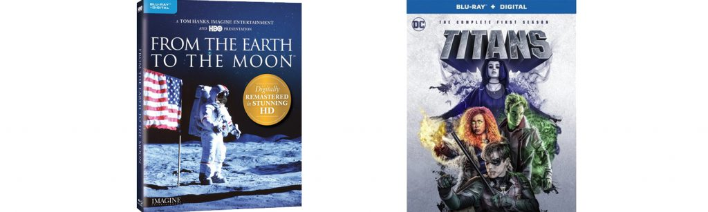 From the Earth to the Moon and DC Comics' Titans come home on Blu-ray this week.