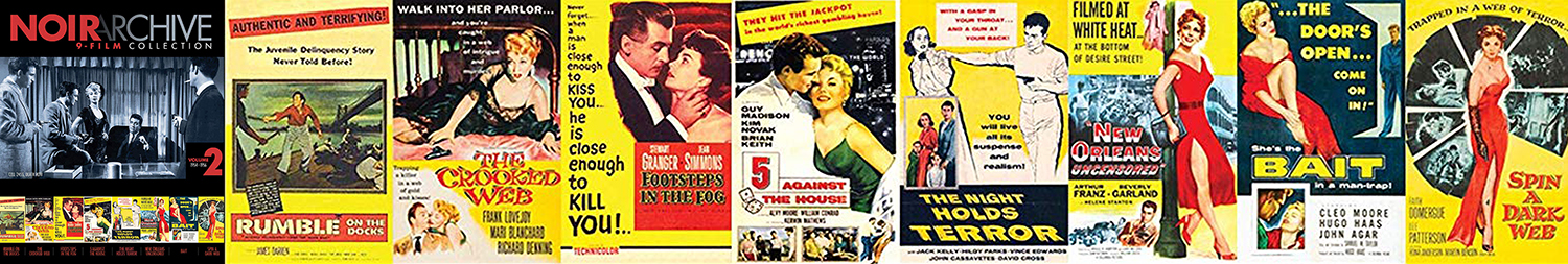 The second volume of the Film Noir Archive hits Blu-ray this week.