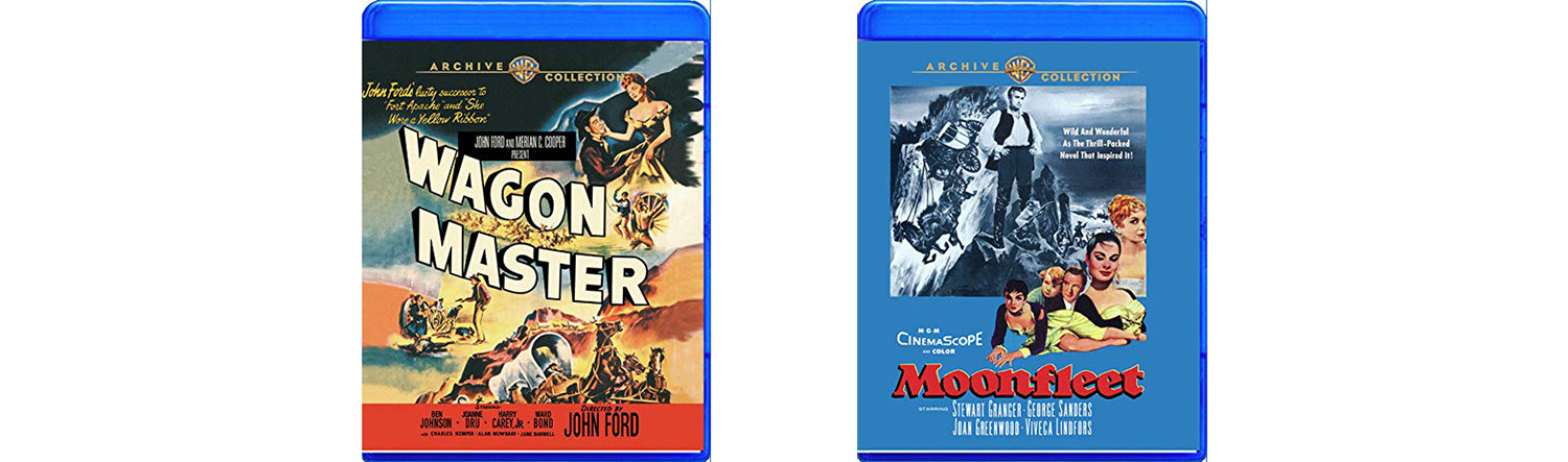 Look for Wagon Master and Moonfleet to arrive this week from Warner Archive.