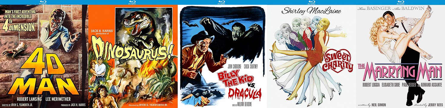 Take a look at the new titles hitting from Kino Lorber Studio Classics this week.