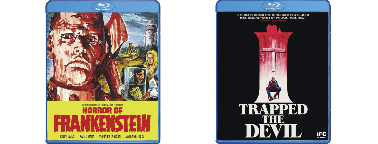 Look for both Horror of Frankenstein and I Trapped the Devil on Blu-ray from Shout Select.