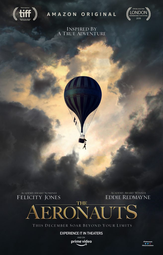 Watch The Aeronauts trailer for a look at the new movie starring Eddie Redmayne and Felicity Jones.