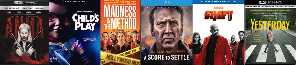 Take a look at the new releases that are hitting DVD, Blu-ray and 4K Ultra HD this week.