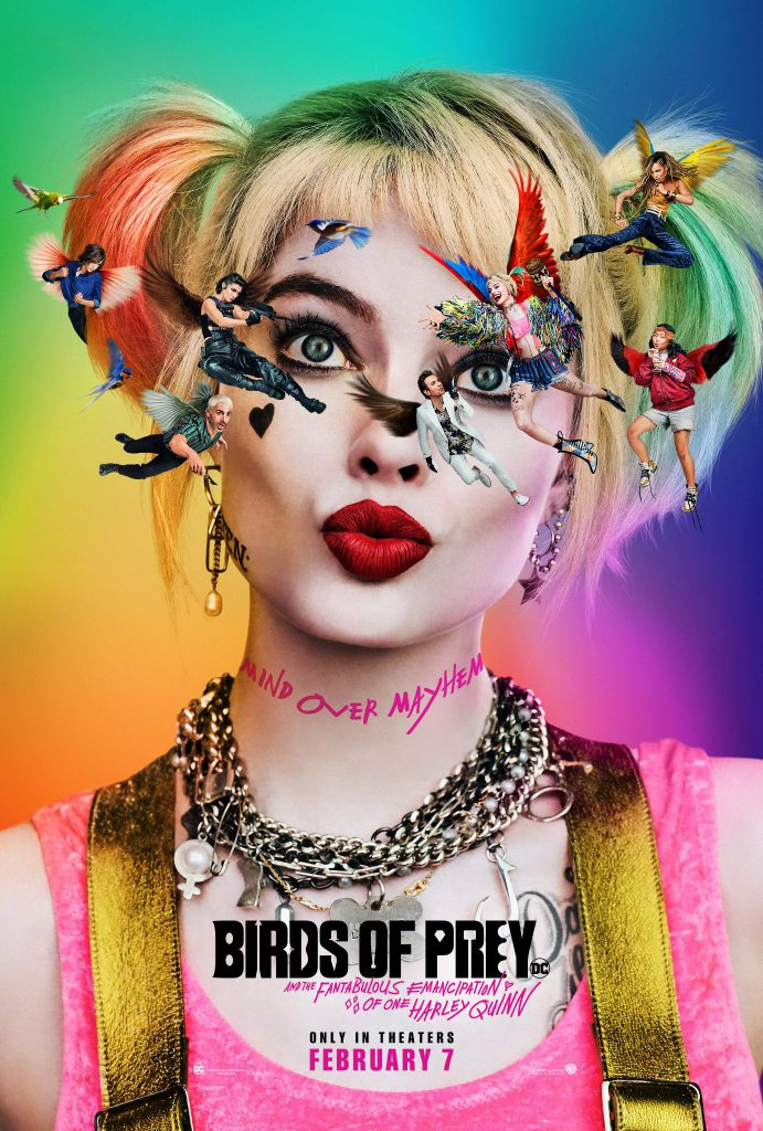 Harley Quinn is front and center on the first Birds of Prey movie poster.