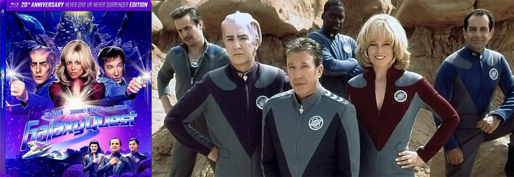 Galaxy Quest is celebrating its 20th anniversary with a new 20th anniversary steenbok blu-ray.