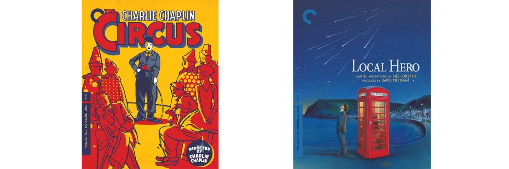 The Circus and Local Hero are both coming to Blu-ray this week through the Criterion Collection.