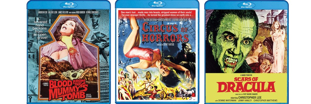 There is a lot of great Hammer Horror arriving this week from Scream Factory.