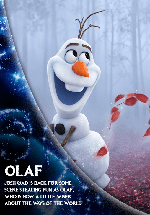 Frozen 2 Character Olaf