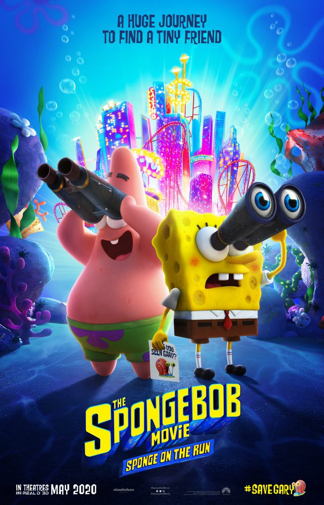 Watch the first The SpongeBob Movie: Sponge Out of Water movie trailer.