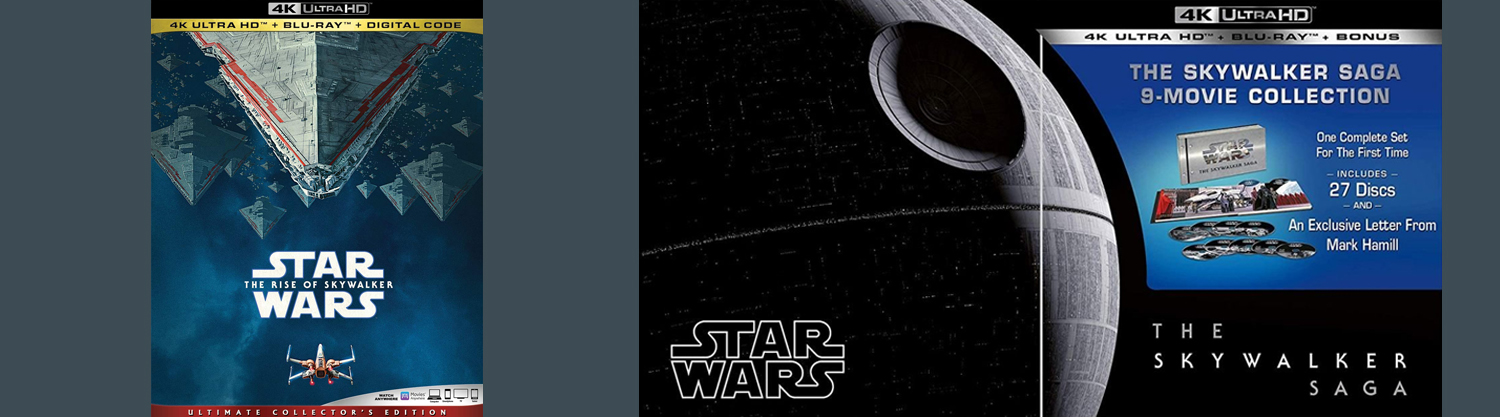 Star Wars: The Rise of Skywalker is now available on Blu-ray, DVD, 4K Ultra HD, and Digital HD