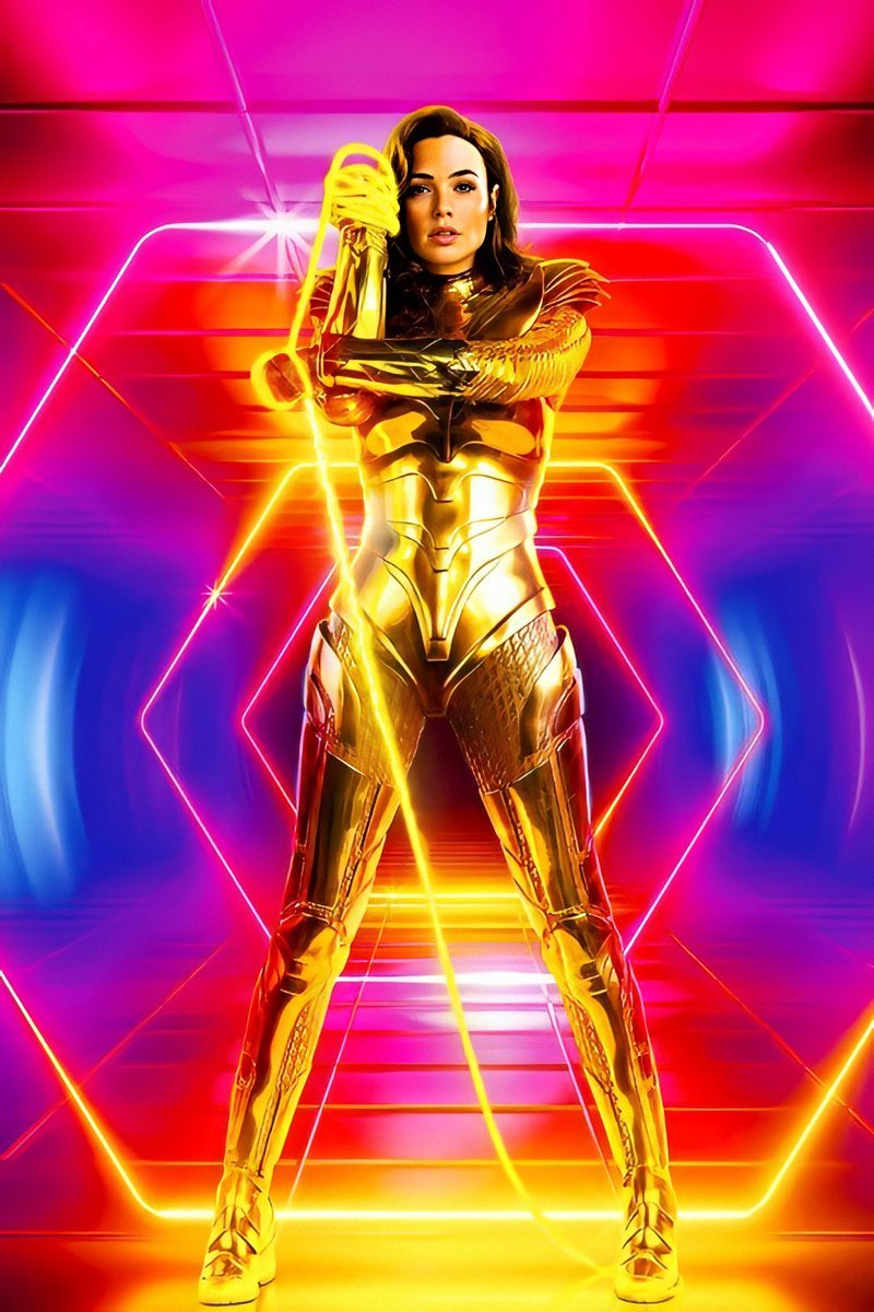 Take a look at the new Wonder Woman 1984 movie poster.