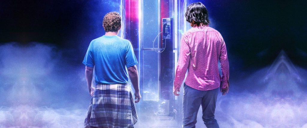 Watch the Bill and Ted 3 trailer.