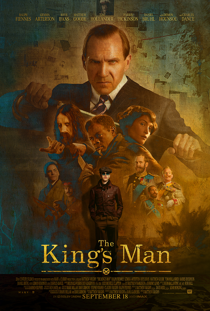 Take a look at the new King's Man movie poster.