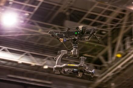 Dactylcam Pro med Flighthead mini i Oslo Spektrum