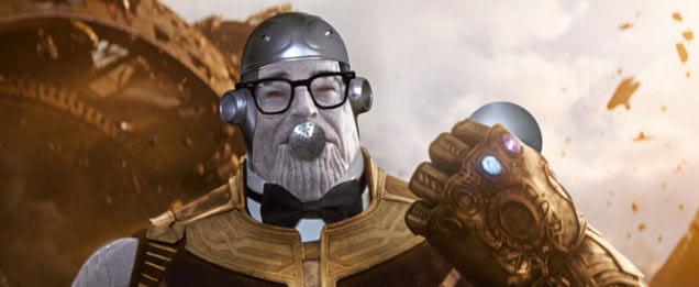 Ini Nih Kumpulan Meme Thanos Lucu dari Pengguna Internet