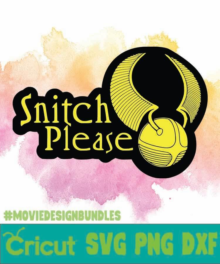 Snitch Svg : snitch, SNITCH, PLEASE, CLIPART, Movie, Design, Bundles
