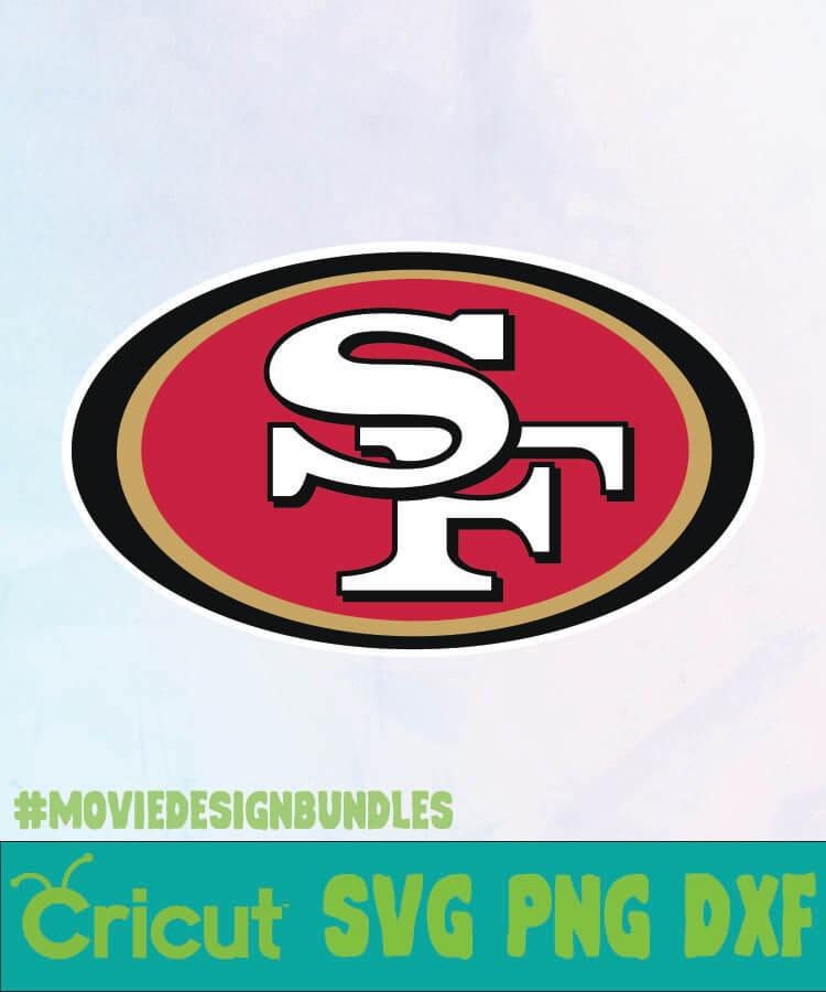 San Francisco 49ers Svg Free : francisco, 49ers, FRANCISCO, 49ERS, Movie, Design, Bundles