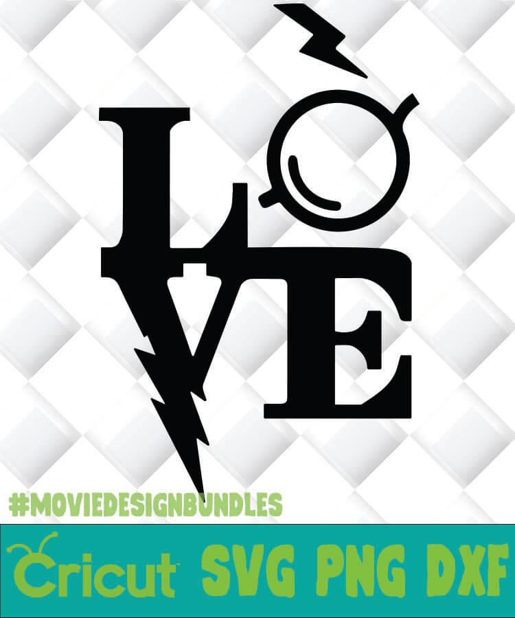 Download HARRY POTTER LOVE SVG, PNG, DXF, CLIPART - Movie Design ...