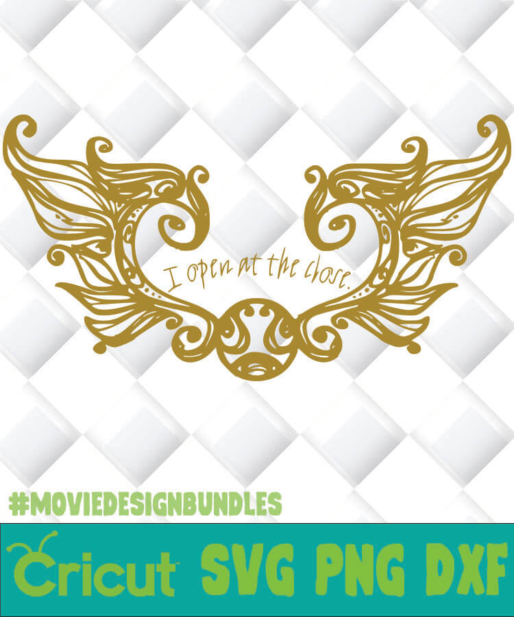 Snitch wings svg | Etsy