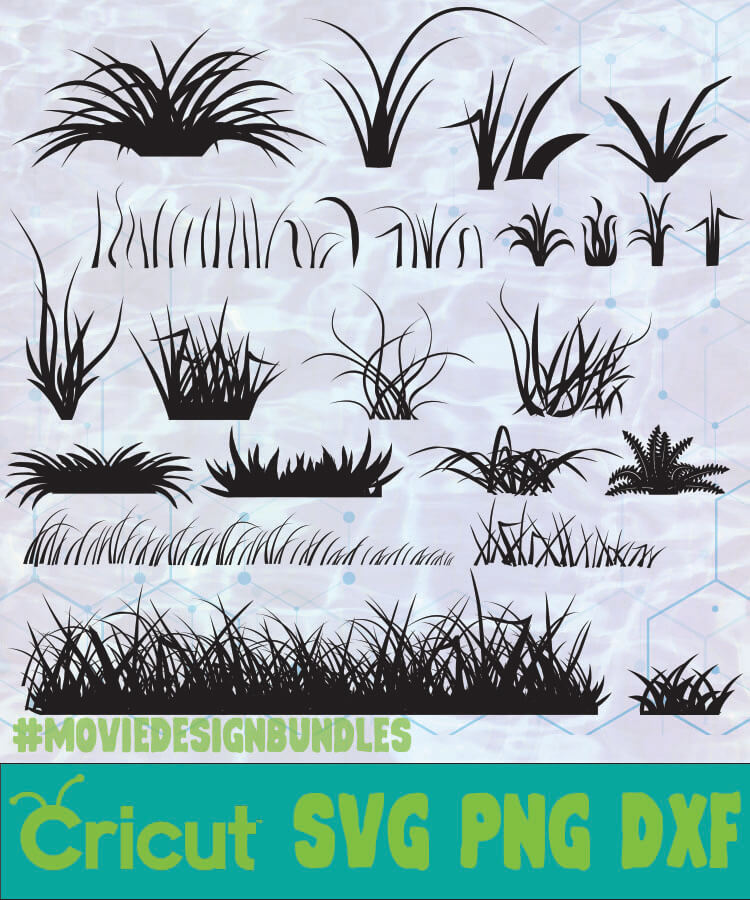 Grass Svg Free : grass, GRASS, NATURE, ENVIRONMENT, SILHOUETTE, Movie, Design, Bundles