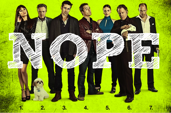 You'd be forgiven for thinking there were seven psychopaths in this film