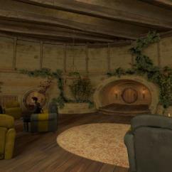Large Overstuffed Sofas Window Sofa Storage Hogwarts - Hufflepuff Common Room And Dormitories | Mfc's ...