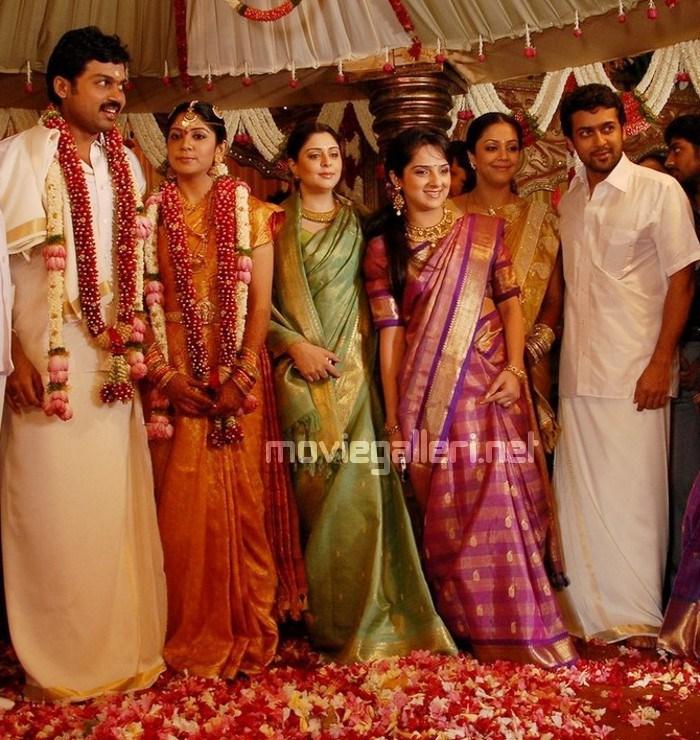 Jothika Surya Photos Wedding
