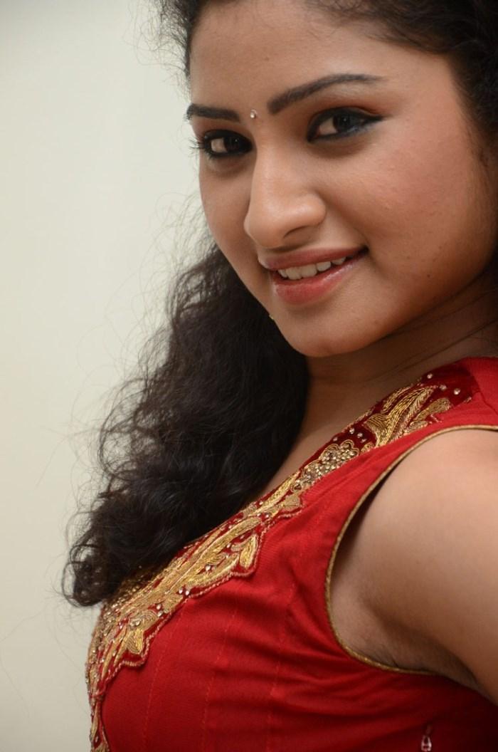Cute Sneha Wallpapers Picture 537475 Telugu Actress Vishnu Priya Stills In Red