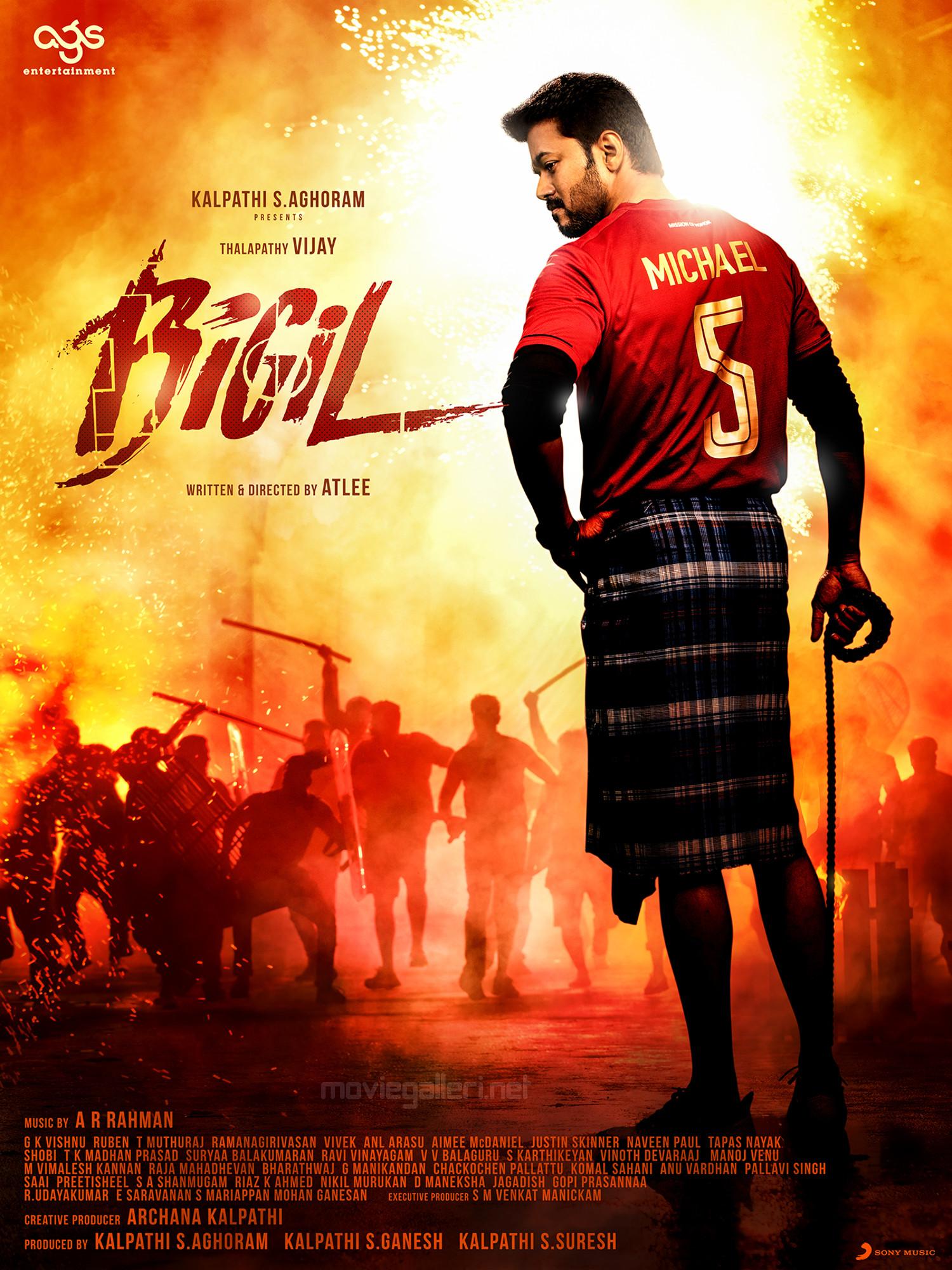 vijay bigil movie 3rd